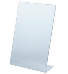 photo of Prijskaarthouder 4cm x 6cm L-model acryl