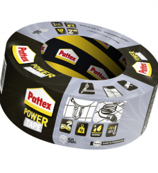 photo of Plakband Pattex Power Tape 50mmx50m grijs