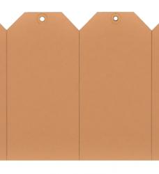 photo of Label karton nr2 200gr 40x80mm chamois 1000stuks