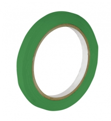 photo of Zaksluittape pvc 9mm x 66m groen