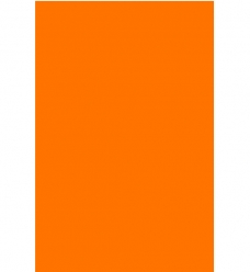 photo of Prijskaart fluor oranje 16cm  x 24cm rechthoek