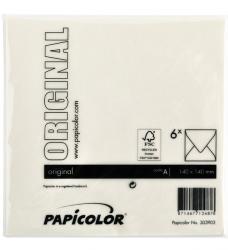photo of Envelop Papicolor 140x140mm Anjerwit