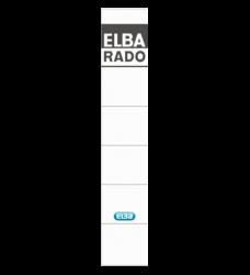 photo of Rugetiket Elba smal 34x190mm zelfklevend wit/grijs