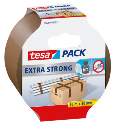 photo of Verpakkingstape Tesa 05050 extra strong 50mmx66m bruin