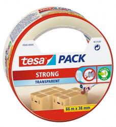 photo of Verpakkingstape Tesa 05042 strong 38mmx66m tranaparant