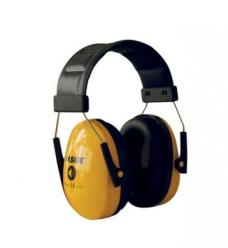 photo of Gehoorkap Sonora 1 met hoofdband geel 26dB/a