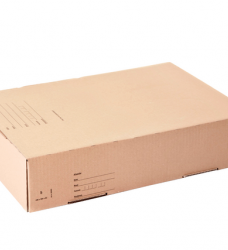 photo of Postpakketbox Budget 6 485x260x185mm bruin