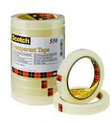 photo of Plakband Scotch 550 15mmx66m transparant