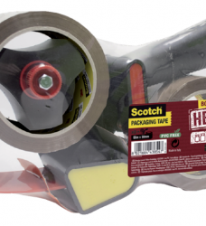 photo of Handdozensluiter Scotch met 2rol Heavy 50mmx66m bruin