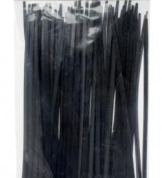 photo of Inbindstrips nylon 2,5x100mm Ø20,5mm zwart