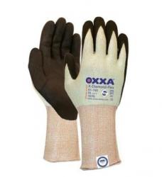 photo of Werkhandschoenen OXXA X-diamond-flex cut 5 nylon/lycra met nitrile coating 10/XL zwart/lichtgroen