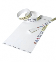 photo of Tekststempel Colop E-Mark polsbandjes 19mm x 250mm 100st