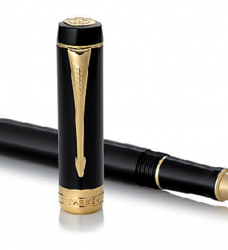 photo of Rollerpen Parker Duofold black & gold F