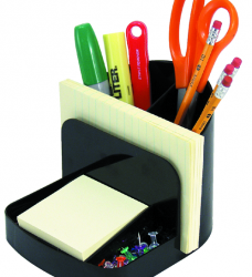 photo of Bureau organizer Officemate deluxe zwart