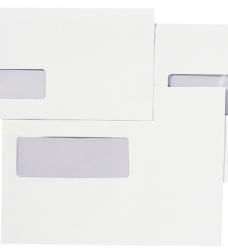 photo of Envelop Quantore 110x220mm venster 3x10cm rechts zelfkl 25st