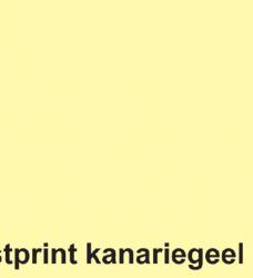 photo of Kopieerpapier Fastprint A4 80gr kanariegeel 500vel