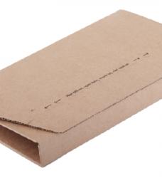 photo of Wikkelverpakking CleverPack A5 +zelfkl strip bruin 25stuks