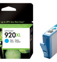 photo of Inktcartridge HP CD972AE 920XL blauw HC