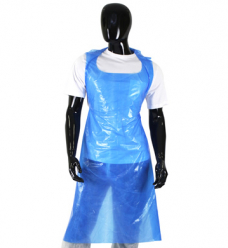 photo of PE schort 80cm x 125cm 20µm blauw