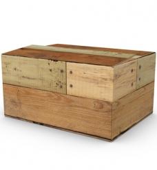 photo of Pakketdoos B 39cm x 29cm x 13cm bruin hout