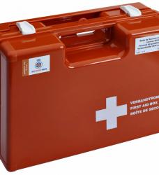 photo of Verbandtrommel BHV volgens Oranje Kruis