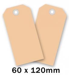 photo of Label nr 6 120mm  x 60mm chamois onbedrukt Karton