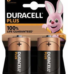 photo of Batterij Duracell Plus 2xD