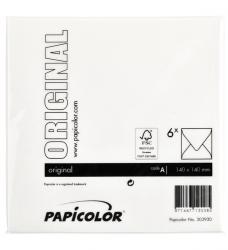 photo of Envelop Papicolor 140x140mm Hagelwit