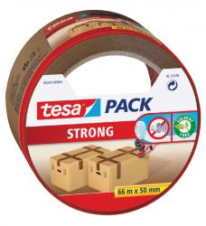 photo of Verpakkingstape Tesa 50mmx66m bruin blister PP