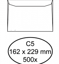 photo of Envelop Hermes bank C5 162x229mm wit 500stuks