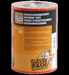 photo of Verpakkingstape CleverPack breekbaar 50mmx66m oranje/zwart