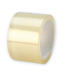 photo of Tape 75mm x 66m transparant hotmelt polyprop