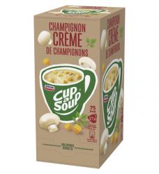 photo of Cup-a-soup champignon cremesoep 21 zakjes