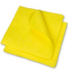 photo of Huishouddoekje 38 cm x 38cm geel