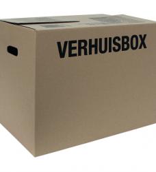 photo of Verhuisdoos Budget 480x320x360mm bruin