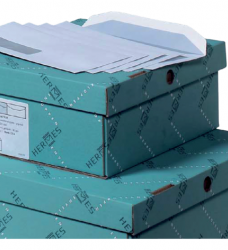 photo of Envelop Hermes akte C4 229x324mm venster 4x11 rechts zelfkl 250st