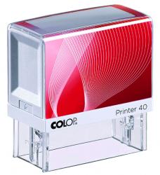 photo of Tekststempel Colop Printer 40 +bon 6regels 59x23mm