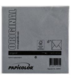 photo of Envelop Papicolor 140x140mm Ravenzwart