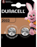photo of Batterij Duracell knoopcel 2xCR2032 lithium Ø20mm 3V-180mAh