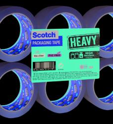 photo of Verpakkingstape Scotch Heavy 50mmx66m transparant 6 rollen