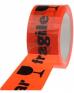 photo of PP tape 50mm x 66m oranje breekbaar