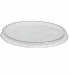 photo of Deksel rond 10.1cm  pp transparant