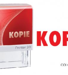 photo of Woordstempel Colop Printer 20 kopie rood