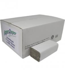 photo of Handdoekjes paper2paper 25cm x31cm   C vouw 1 laag naturel