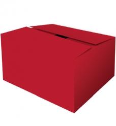 photo of Pakketdoos B 39cm x 29cm x 13cm rood