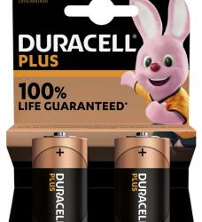 photo of Batterij Duracell Plus 2xC