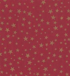 photo of Kadopapier kerst 50cm x 200m 074 bruin kraft 70gr / m2