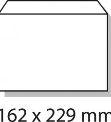 photo of Envelop Quantore bank C5 162x229mm zelfklevend wit 25stuks