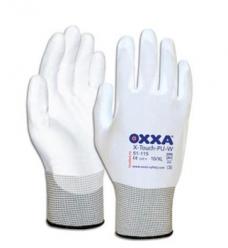 photo of Werkhandschoenen OXXA X-Touch-PU-W nylon met pu coating 9/L wit