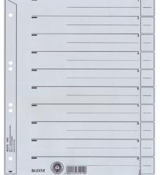 photo of Scheidingsbladen Leitz A4 karton 200gr 6-gaats grijs